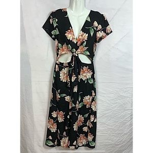 Lulus romantic floral midi  dress